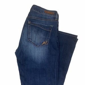Express | Barely Boot Cut Mid Rise Jeans